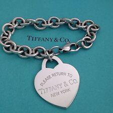 Tiffany & Co  Xl  Extra Large Return To Heart Bracelet Authentic
