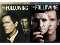 THE FOLLOWING - STAGIONI 1 e 2 (8 DVD) COFANETTO SERIE TV FOX SKY