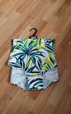 M&S Collection Green Palm Print Boy Shorts Size 22-BNWT