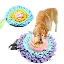 Washable Green House Dog Snuffle Mat Pet Puzzle Toy Sniffing Training Pad HOT~
