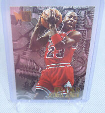 1995-96 Fleer Metal Basketball Michael Jordan Nuts & Bolts Card #212 BULLS