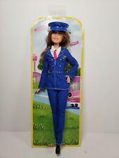 "Barbie Careers Pilot 2015 Mattel 12"" Inch Doll"