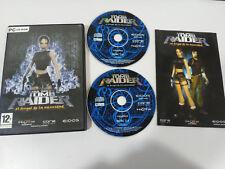 TOMB RAIDER LARA CROFT EL ANGEL DE LA OSCURIDAD JUEGO PARA PC 2 X CD-ROM ESPAÑA