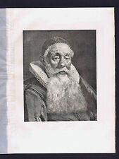 Gellius Faber de Bouma (Jelle Smit), Catholic Priest, 1882 Photogravure