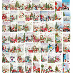 CHRISTMAS CARD Men Women Relations Family Friends Xmas Cards New