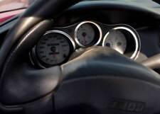 D Fiat Barchetta Chrom Tachoringe - Aluminium poliert 3 Ringe