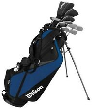 WILSON MENS TOUR VELOCITY COMPLETE GOLF SET STANDARD RIGHT HAND W/ BAG