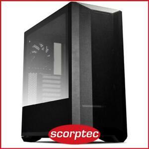 Lian Li Lancool II Mesh Performance Black E-ATX Case, TG Window,No PSU