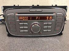 Ford 6000 Focus S-Max C-Max Galaxy CD auto radio estéreo reproductor de CD Plata + Código
