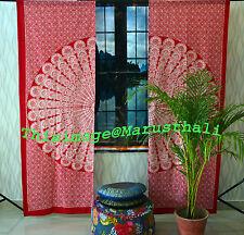 Indian Mandala Door Window Curtains Cotton Drape Wholesale Lot of 3 Curtain Sets
