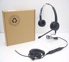 IPN H850 Binaural Headset for SNOM 320 360 370 720 760 820 Avaya 1608 1616 9620