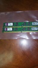 2GB = 1GB X2 1RX8 PC2-5300U DDR2-667 128X8  8CHIPS 240PIN NON-ECC DESKTOP PC RAM