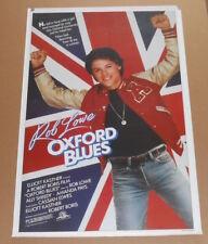 Oxford Blues Rob Lowe Poster 1984 Original 27x41