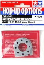 Tamiya 53666 RC Car Metal Motor Mount For (TT01/TT01E/TT01D/TT01ED/DF02) OP666