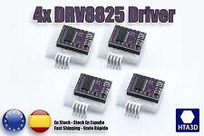 4x DRV8825 Stepper Motor Driver Carrier, High Current For Reprap 1/32 Resolution