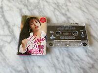 Selena Amor Prohibido CASSETTE Tape 1994 EMI Latin Bidi Bidi Bom Bom, Si Una Vez