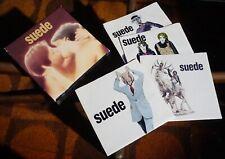 "SUEDE 1st LP Singles Box Set UK 1993 4x7"" ALL SINGLES UNPLAYED LOOK !"