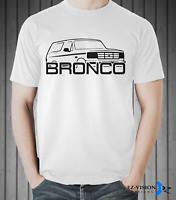 Ford Bronco Car T-Shirt - S M L XL 2XL 3XL - EZ-Vision Designs