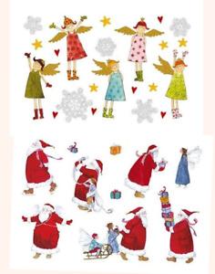 *Weihnachten*Kinder-Tattoos*Himmlische Engel*Elfe&Santa*Mitgebsel A7*