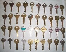 40 SOLID BRASS KEYS-USA-Segal-Cole-Taylor-Star-Yale-Unican-Keil-Axxess-Roberts