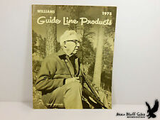 1975 Williams Gun Sight Company Catalog Guide Line Products