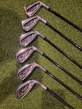 New listing Cobra Golf KING SpeedZone One-Length Iron Set (5-PW) Black KBS $Taper Lite Stiff