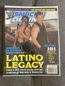 WWE Smackdown Magazine Dec 2004 - Rey Mysterio Eddie Guerrero