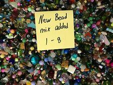 ~200~ Piece Glass Loose Beads Bulk Mixed Lot Craft Jewelry Grab Bag!!!!!!!!!