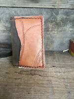 Baseball Glove Leather Minimlist Wallet