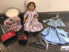 Pleasant Company American Girl Felicity with Mini Doll, Backpack, Homemade Dress