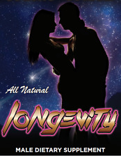 Longevity - All Natural Male Enhancement/ #1 Sex Pill/ 3 Pack / Free Shipping