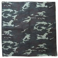 SQUARE GREEN BIKER ARMY CAMOUFLAGE FORCES BANDANA NECK SCARF CAMO FACE HEAD WRAP