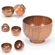 natural jujube wooden bowl,japanese style chinese bailer soup noodles salad