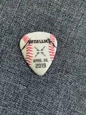 Metallica & SF Giants Original/Authentic Guitar Pick (2019)