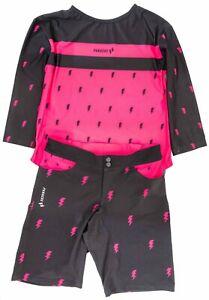 Panache Women 3/4 Sleeve Enduro Kit Women XS Pink Black Downhill Mountain Bike