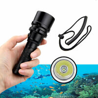LED XM-L T6 Flashlight Torch Diving Underwater 100M 2500LM Scuba lamp Light