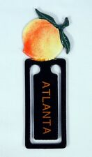 Hand Painted Peach with Atlanta Imprint Bookmarks (Set of 2) 390P