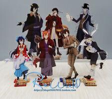 Anime Bungo Osamu Dazai Acrílico Soporte de los perros callejeros Figura De Escritorio Decoración Regalos 15cm