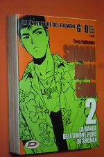 GTO-SHONAN JUNAI GUMI - la banda dell'amore puro- N°2- DI:TORU FUJISAWA-DYNAMIC
