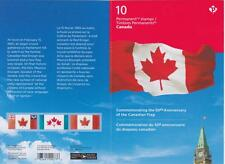 Canada 2015 BK613 Canada's Flag (booklet pane of 10)