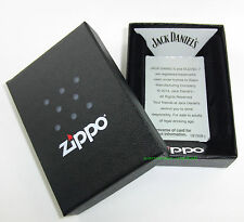 ZIPPO Feuerzeug JACK DANIELS Old No 7 CIRCLES Satin Chrom Whiskey NEU OVP