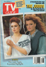 1991 TV GUIDE Naomi & Wynonna Judd Nov. 30 - Dec. 6 NO LABEL