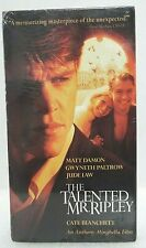 The Talented Mr Ripley Vhs 2001 Special Edition New Sealed