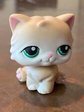 Lps Persian Cat #129 Littlest Pet Shop-Persian Cat Cream/Tan