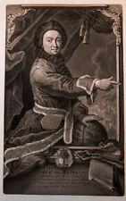 1744 Maupertuis Pierre-Louis Moreau de schabkunst-Portrait Haid tourmere