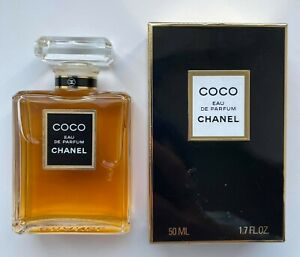 CHANEL COCO EAU DE PARFUM 50 ML 1.7 fl oz VINTAGE NO SPRAY
