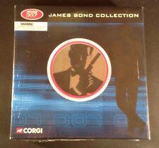 Corgi James Bond Film Canister 4 Car Gift Set 2003 Boxed Sealed & Unopened (37Y)
