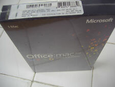 MS Microsoft Office MAC 2011 Home and Business PKC for 1 User 1 Mac =SEALED BOX=