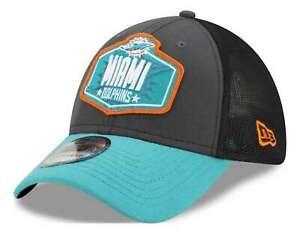 New Era - NFL Miami Dolphins 2021 Draft 39Thirty Trucker Stretch Cap - Mehrfarbi