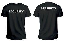 T-Shirt Security sicurezza Maglietta Maglia tshirt eventi TSH2